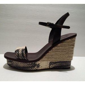 047d9d7f1 Tory Burch Shoes - New Tory Burch Malaga Platform Wedge Sandals